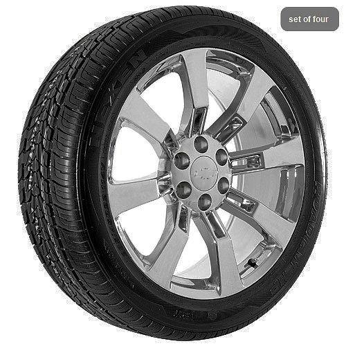 Chevrolet Chrome 2009 Silverado Suburban Tahoe Rims Wheels and Tires