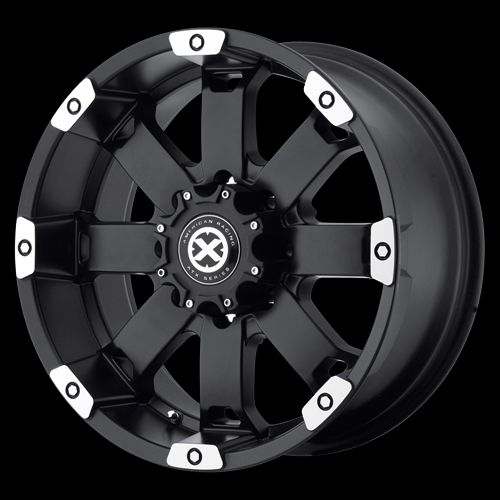 20 Inch Black Wheels Rims Chevy GMC Truck Silverdo Sierra 2500 3500 8