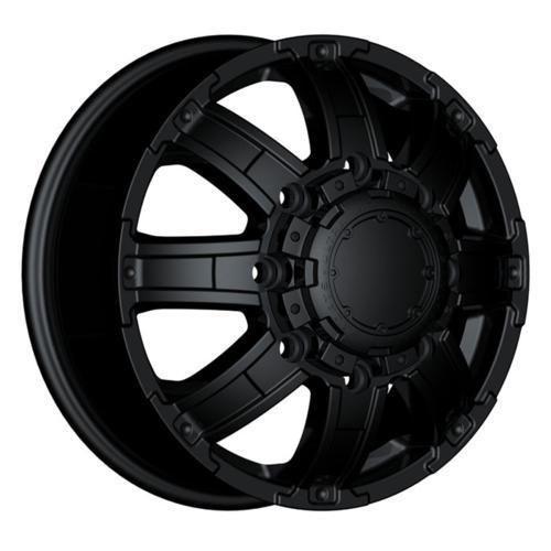 Ultra Wheels 024 Gauntlet Dually 8x210 17 Black New Chevy GMC