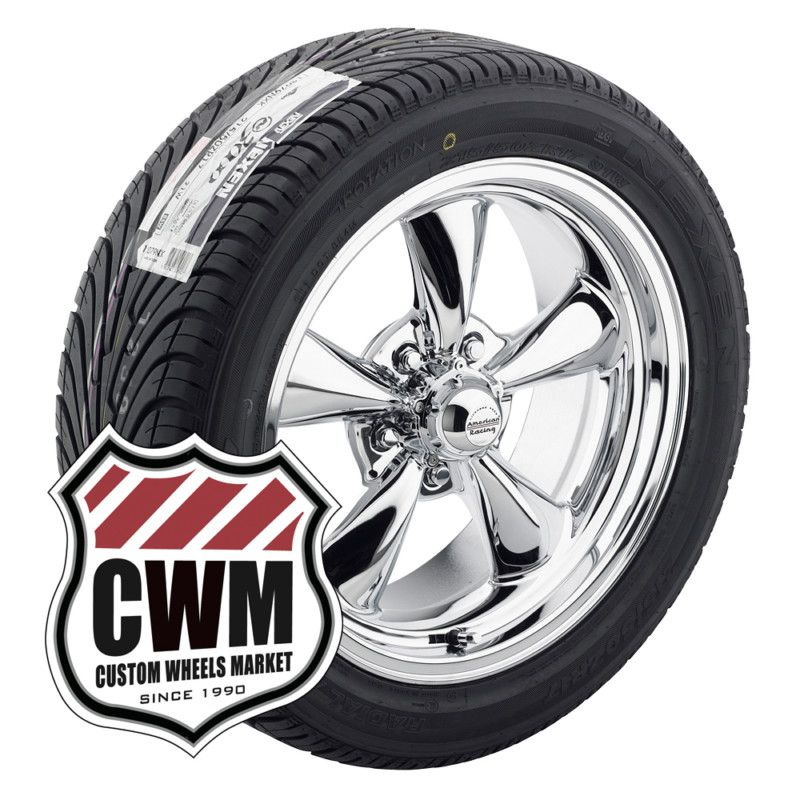 17x8 17x9 Chrome Wheels Rims Tires 235 45ZR17 275 40ZR17 for Olds