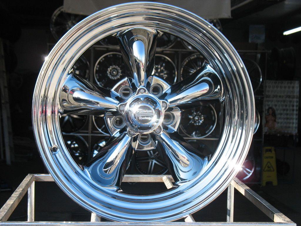 American Racing VN815 Wheels Rims 5x4 5 5x4 1 2 Hot Rod Chrome