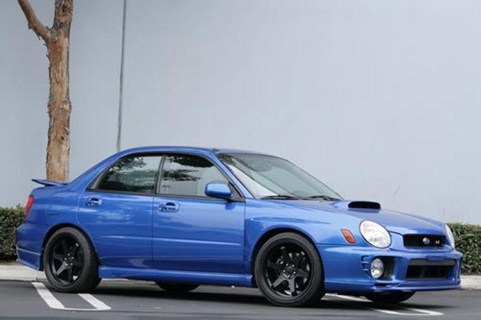 TE37 Style Matte Black Wheels Rims Fit Subaru Baja Legacy