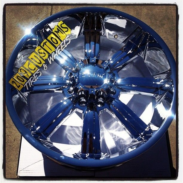 903 Chrome Wheels Rims Tires 8x165 315 40 26 Hummer H2 2001