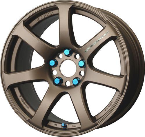 17 Work XT 7 Bronze Rims Wheels 17x9 38 5x114 3