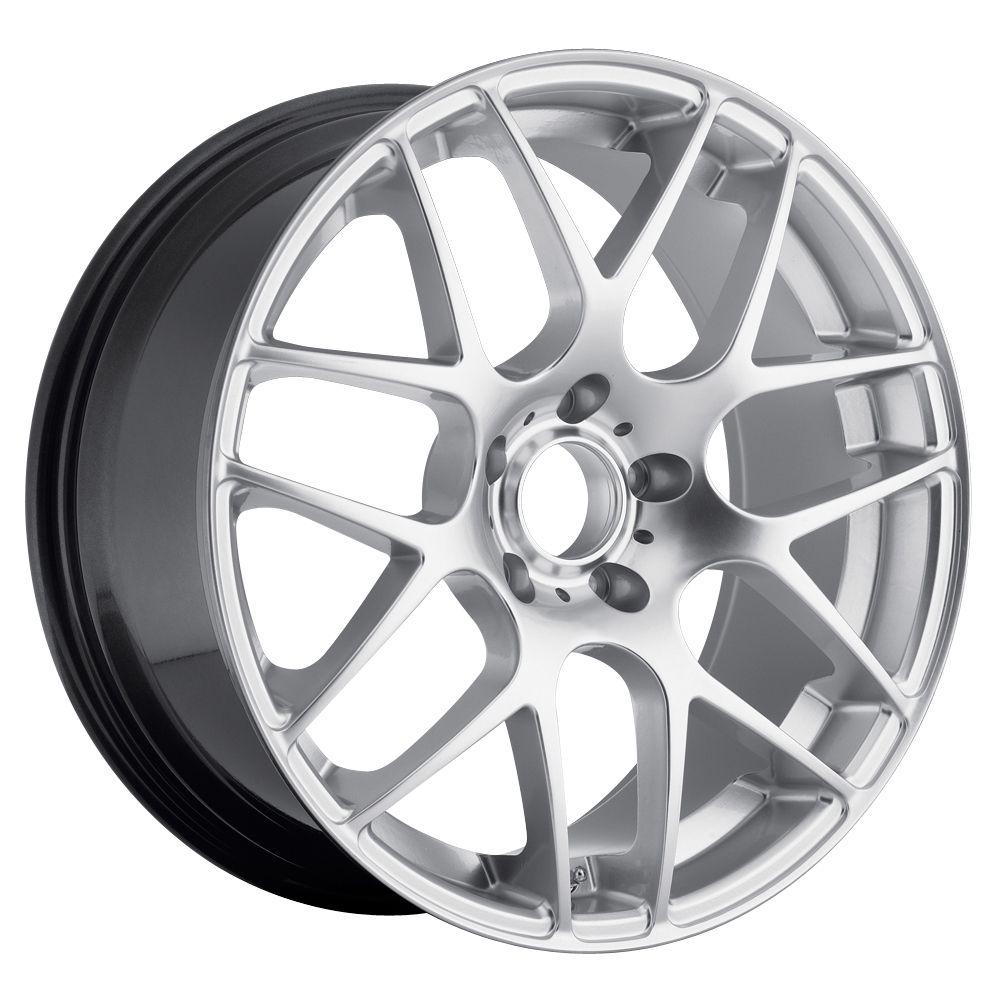 19 MRR UO2 Style Hyper Silver Wheels Rims Fit Lexus ES GS LS RX SC300
