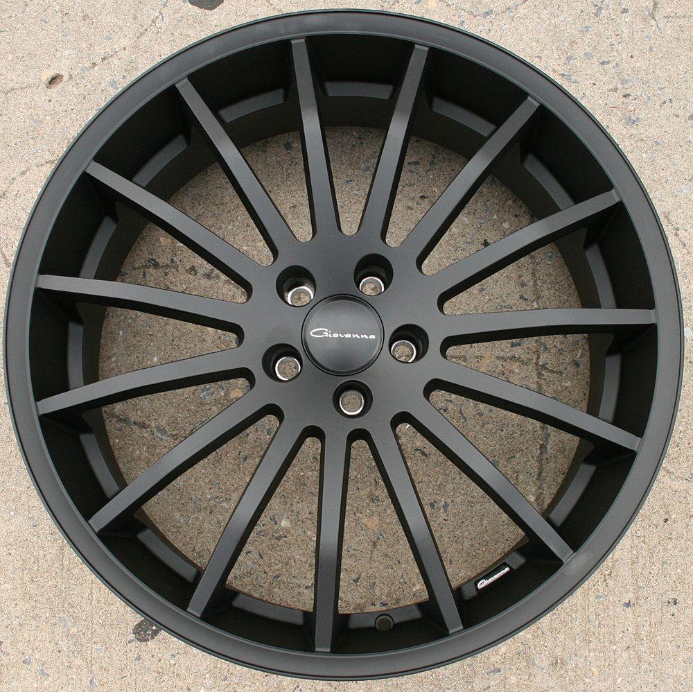 Giovanna Martuni 22 Black Rims Wheels Audi A8 22 x 9 0 5H 38
