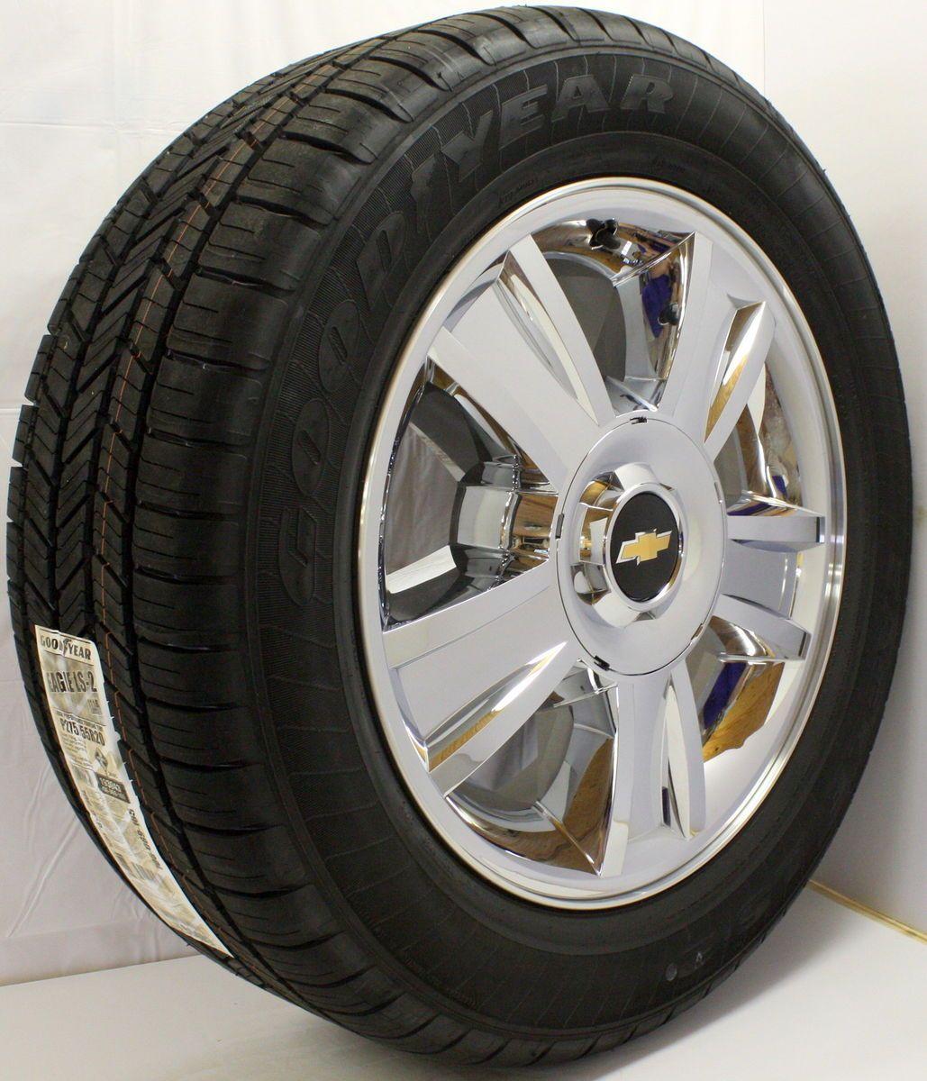 Suburban Silverado Z71 Avalanche Tahoe 20 Wheels Tires Sensors