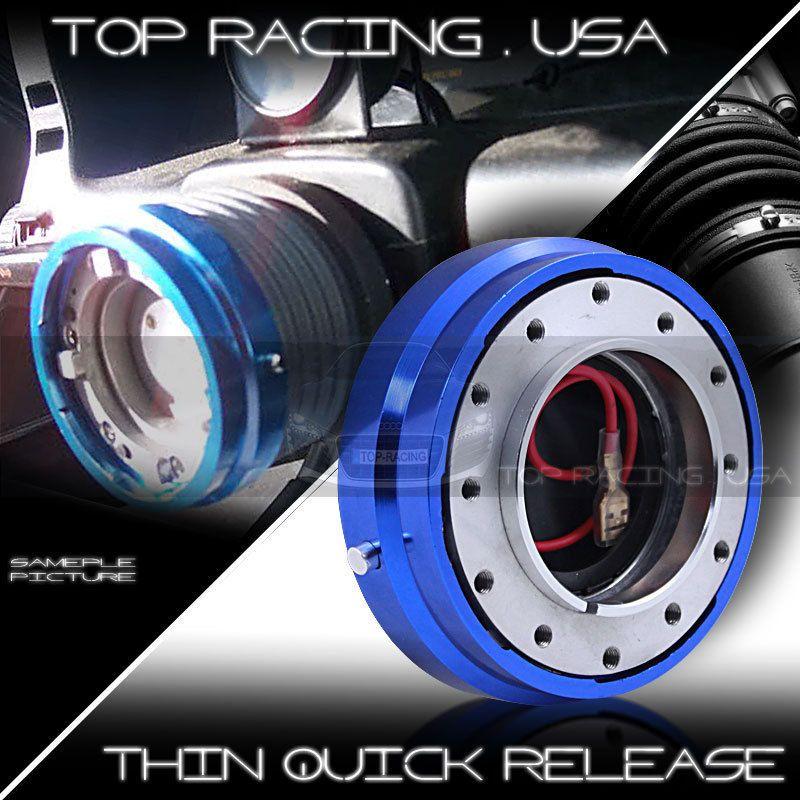JDM Sport Universal 6 Hole Racing Steering Wheel 1 5 Thin Quick