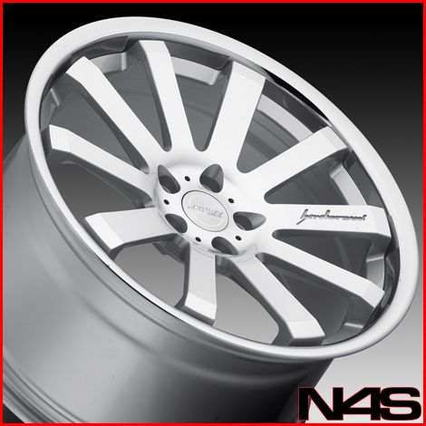 Lexus IS250 is350 MRR CV8 Silver Concave Staggered Wheels Rims