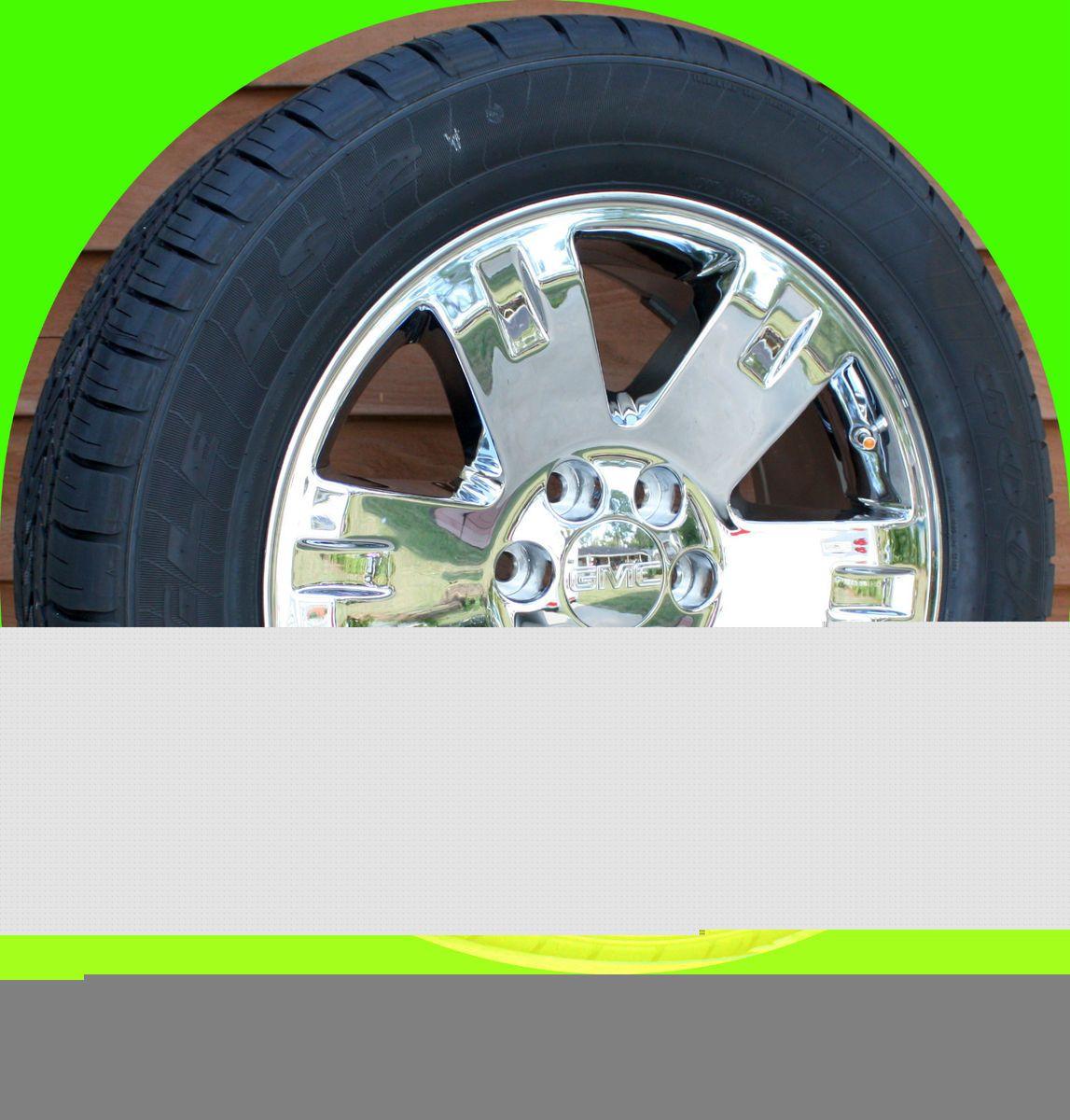 New GMC Sierra Yukon Denali 20 in Wheels Goodyear 275 55R20 Tires Set