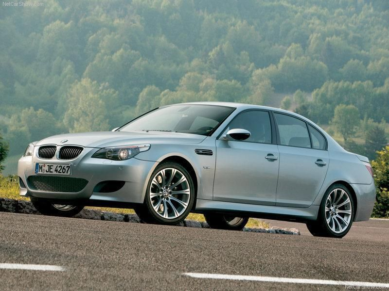 19x8 5 9 5 Staggered BMW M5 Style Silver Rim Wheel Fit BMW 525 528 535