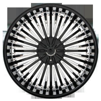 011 Black Chrome Wheels Rims 5 Lug 5x115 5x120 5x4 75 5x127 5x5