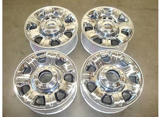 20 Ford F 250 Chrome WHEELS Rims Factory OEM F250 F350 350 Lariat FX4