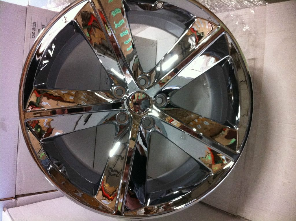 20 inch Dodge Challenger SRT 8 Chrome Wheels Rims 5x115 Dodge Charger