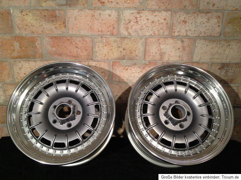 Mercedes Barock Fuchs Wheels Split Rims 8 5x16 ET24 W107 W123 W126