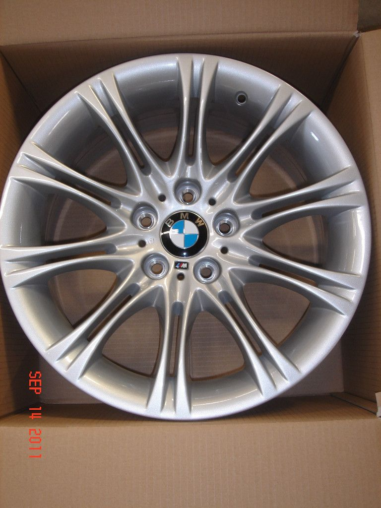 Genuine M Double Spoke 135 18 Wheel Set Rims 525i 530i 545i