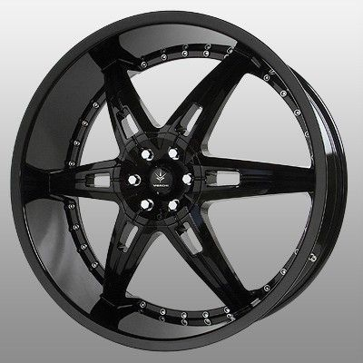 22 inch Verde Allusion Black Wheels Rims 5x5 5 5x139 7 Dodge RAM 1500