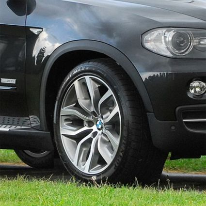 X6 SPORT M STYLE 337 STAGGERED WHEELS 5X120 RIMS WHEELS TIRES PACKAGE