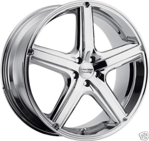 16 Chrome American Racing Wheels Rims Chevy Impala cts Monte Carlo