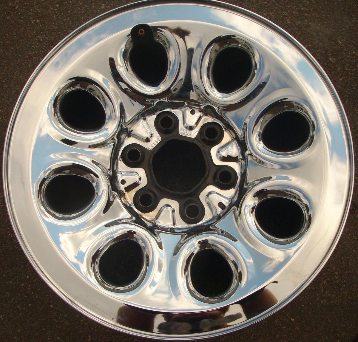 08 09 10 11 Chevrolet Silverado Sierra Chrome Steel Wheel Rim
