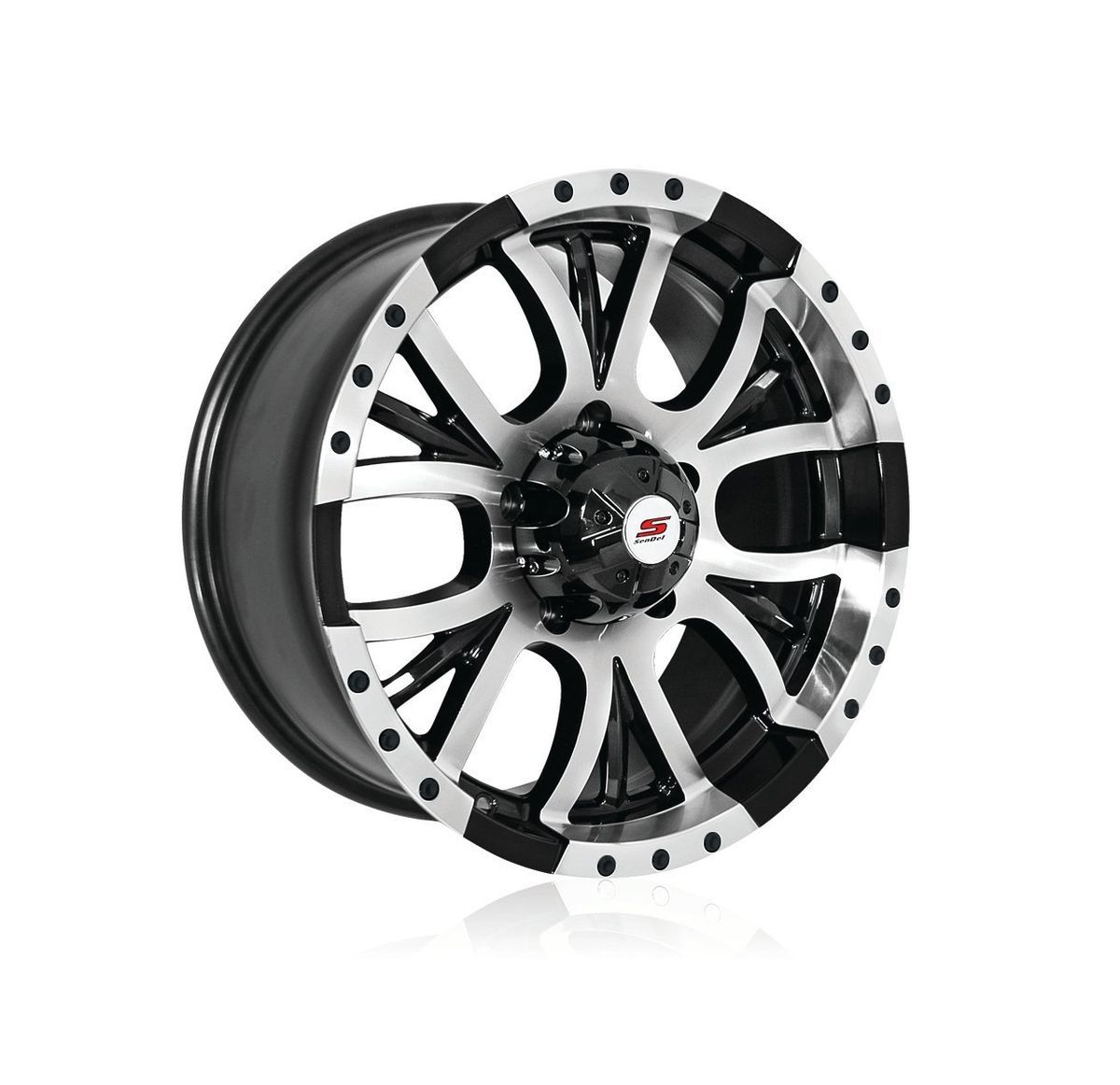 Sendel S13 (Black / Machined) Wheel/Rim(s) 5x114.3 5 114.3 5x4.5 15 8