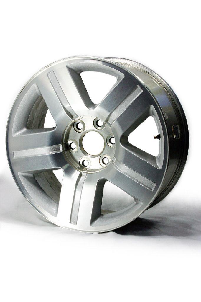Factory 2007 2010 Chevrolet GMC Tahoe Silverado Suburban Wheels   5291