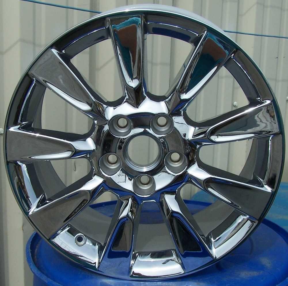 18 Chrome Alloy Wheel Rim for 2009 Cadillac XLR
