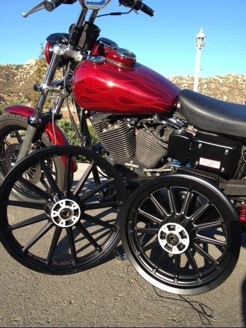 HARLEY DAVIDSON Mag Wheels NEW Black Powder Coated Satin Black Club