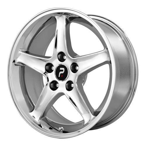 Chrome Ford Mustang Cobra R Factory OE Replica Wheels Rims 5x4 5 17x9