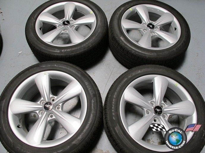 Ford Mustang Factory 18 Wheels Tires Rims Pirelli 235 50 18