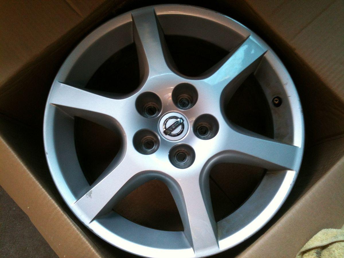 17 Nissan Altima 2002 2003 2004 02 03 04 Factory Wheel Rim