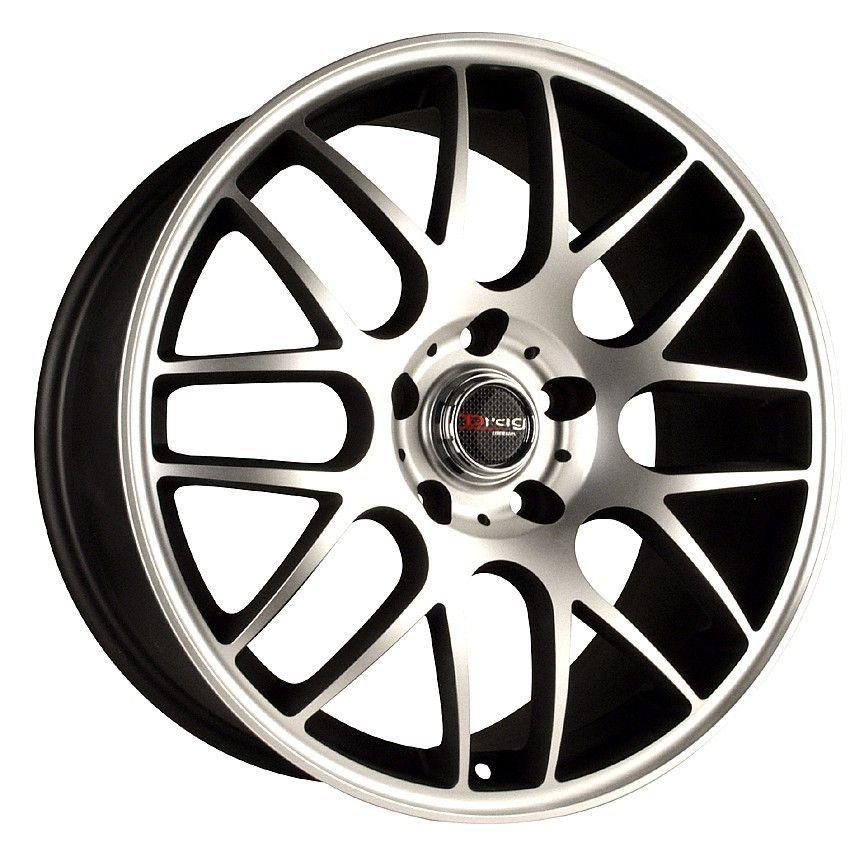 18 5x120 Drag DR37 Black Wheel Rim BMW E46 323 328 330