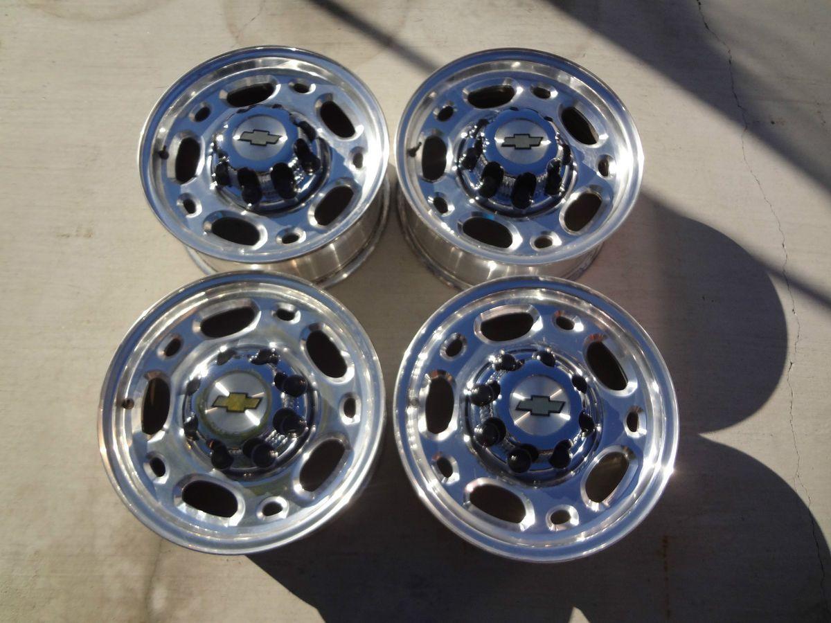 16 8 Lug Rims Wheels 2001 10 Chevy Silverado GMC Sierra 2500HD 3500HD