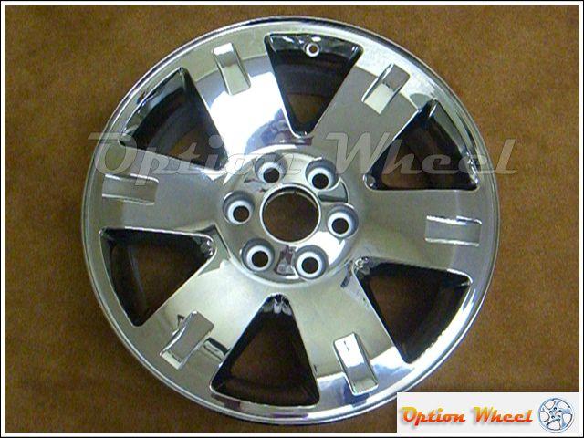 OEM 20 GMC Sierra Yukon XL Denali Chrome Clad Wheels Rims 5306 / 5307
