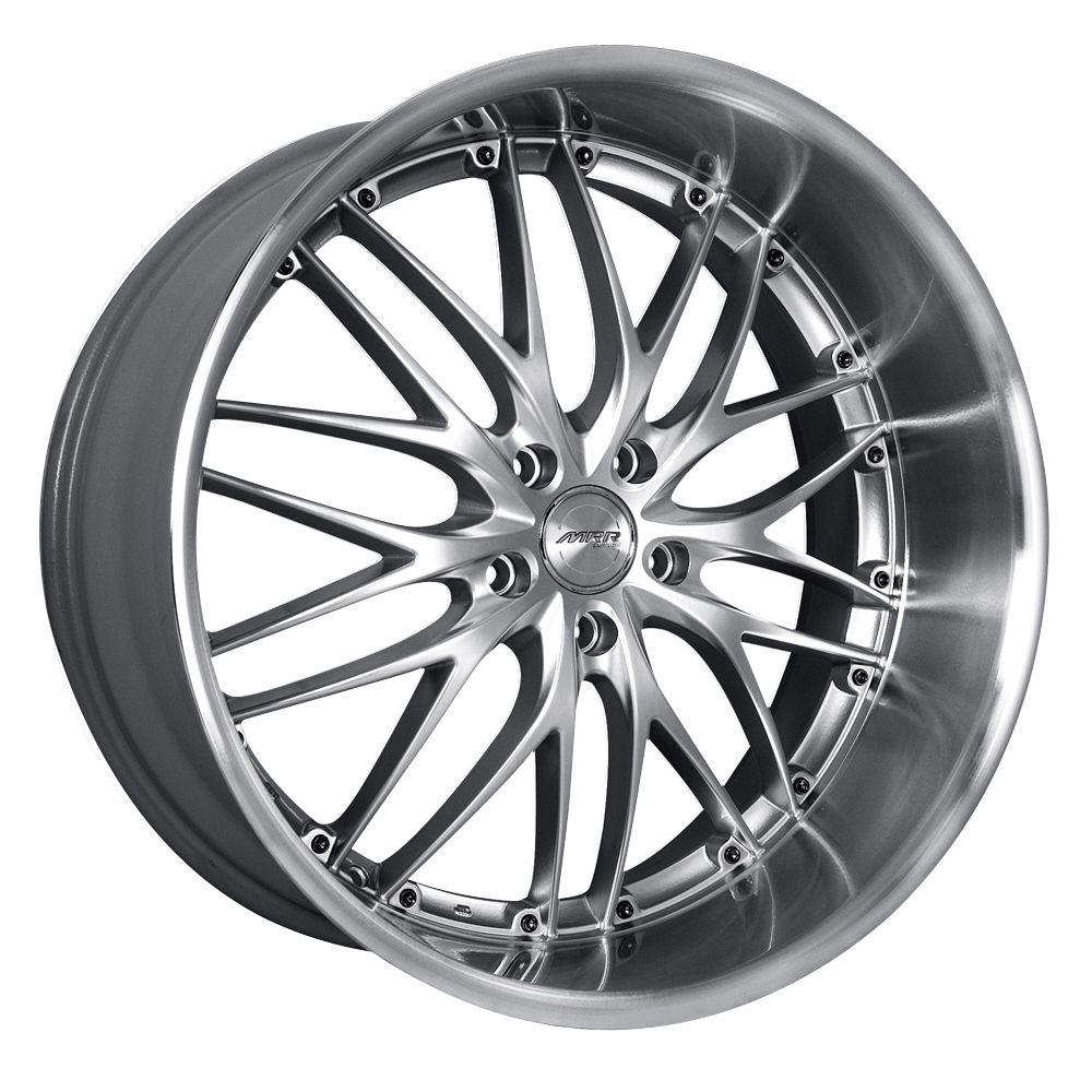 19 MRR GT1 Silver Wheels Rims Fit Lexus ES GS RX LS SC300 sc400 SC430