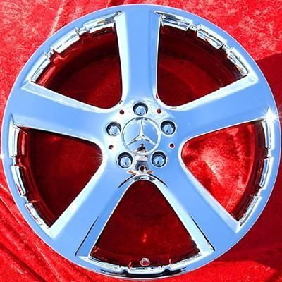 NEW MERCEDES BENZ GL450 GL550 20 CHROME OEM WHEELS RIMS 65426 EXCHANGE